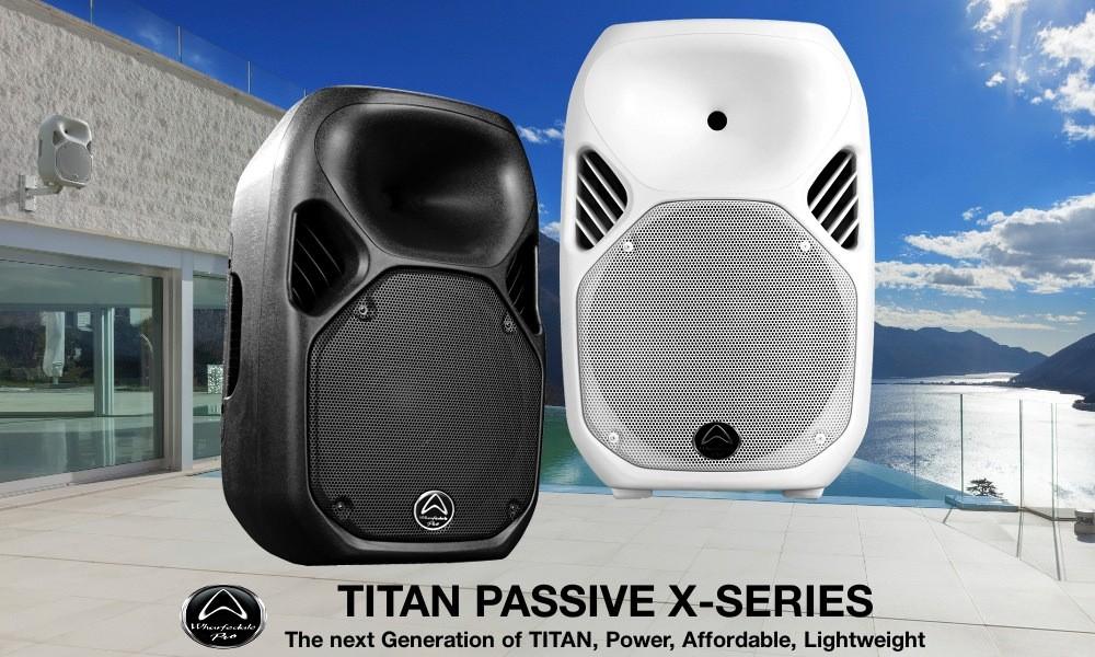 WHARFEDALE TITAN X12 Passives Lautsprechersystem 250W/500W