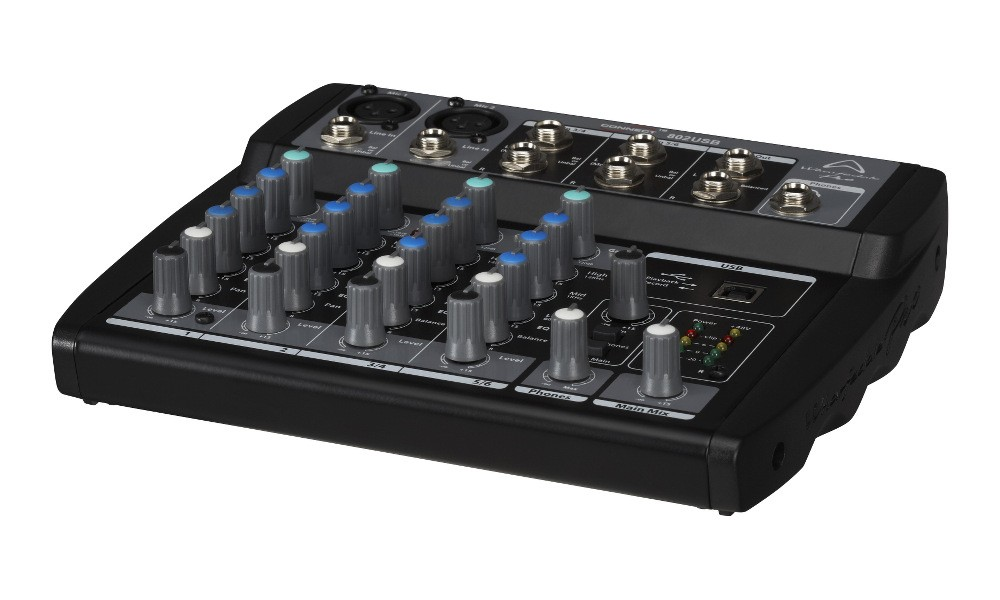 WHARFEDALE Connect 802 USB Mini-Mixer