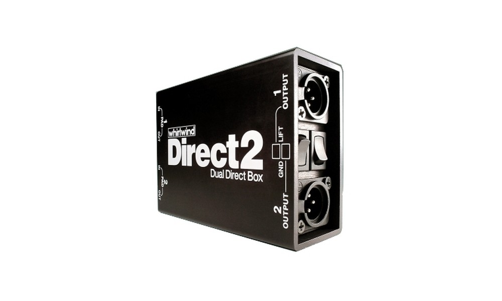 WHIRLWIND Direct-2 Dual-Passiv DI-Box