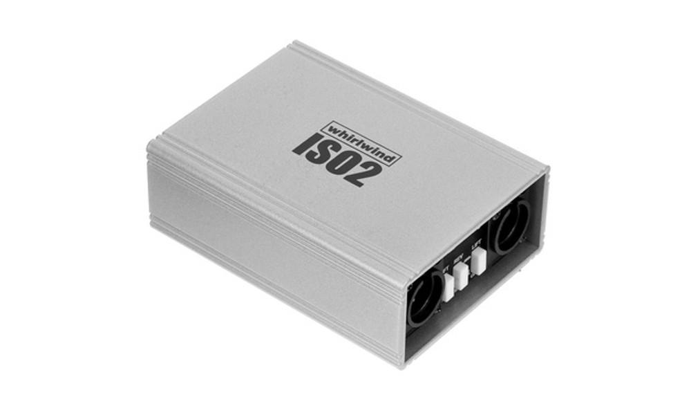 WHIRLWIND ISO-2 Dual Line Level Isolator