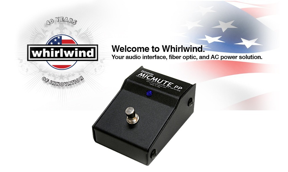 WHIRLWIND MICMUTE PP