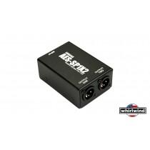 WHIRLWIND AES-SP1x2 Passivsplitter für AES/EBU-Signal