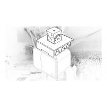 AUDIOPHONY CUBtruss - Decken/Trusshalterung zu CUBsat4 Serie