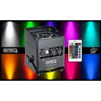 BRITEQ BT-AKKULITE IP 6x10W RGBWA LED-Projektor - Outdoor