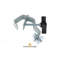 CONTESTAGE CCT-55 ALU C-Clamp/Klemme mit Sicherheitsbügel Ø 30-50mm, Farbe ALU