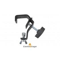 CONTESTAGE CCT-55 BLK C-Clamp/Klemme mit Sicherheitsbügel Ø 30-50mm, Farbe SCHWARZ