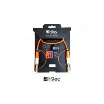 HILEC CFLAT-JSJS Flachband-Audiokabel Stereo Jack/Stereo Jack 6.3mm