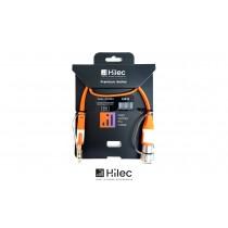 HILEC CFLAT-JSXF Flachband-Audiokabel Stereo Jack/XLR-F