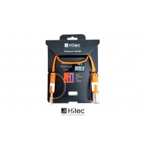 HILEC CFLAT-JSXM Flachband-Audiokabel Stereo Jack/XLR-M