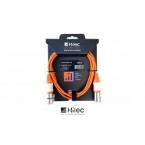 HILEC CFLAT-XMXF Flachband-Audiokabel XLR-M/XLR-F