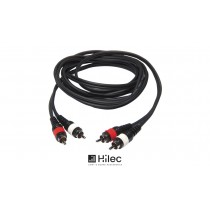 HILEC Audiokabel 2 x Cinch - 2 x Cinch
