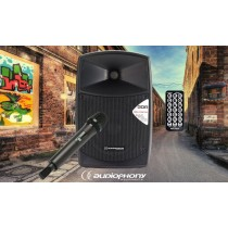 AUDIOPHONY CR80A-MKII Mobiles PA-System 80W RMS