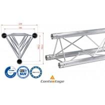 CONTESTAGE DECO22T-PT100 Triangular Truss 100cm, Farbe ALU