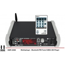 HILL ELECTRONICS DMP-230B Mediaplayer - Bluetooth/USB/FM