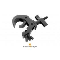 BRITEQ FASTCLAMP V2 BLK C-Clamp/Klemme Ø 48-51mm, Farbe SCHWARZ