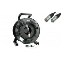 HILEC CAT6ROLL50 CAT6 Kabel mit NEUTRIK®-Stecker 50m auf Kabeltrommel