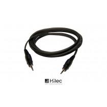 HILEC Audiokabel Stereo Minijack 3.5mm - Stereo Minijack 3.5mm
