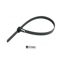 HILEC COLL Wiederverschliessbare Kabelbinder - 100er Set