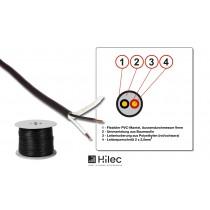 HILEC PROHP-225 Lautsprecherkabel 100m Rolle - 2 x 2.5mm2