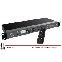 HILL AUDIO DMW-300 WiFi/LAN-Netzwerk-Multimedia-Player