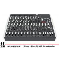 HILL AUDIO LMR-2442FXC-USB Mixer mit DSP-Prozessor