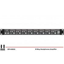 HILL AUDIO RPH-8000 8-fach Kopfhörer-Verstärker
