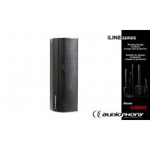 AUDIOPHONY iLINE43 Column Lautsprecher schwarz