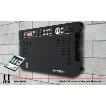HILL AUDIO IMA-202V2B Media-Wandverstärker 2 x 80W Bluetooth/USB/FM