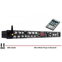 HILL AUDIO IMM-2320B Media Mixer mit Bluetooth/USB/FM