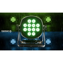 CONTEST IPSPOT 12x10FIVE Outdoor LED-Scheinwerfer RGBWA 120W