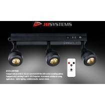 JB SYSTEMS ACCU-LIGHTBAR mit 3 x 5W LED-Projektoren