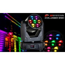 JB SYSTEMS CHALLENGER WASH LED Moving Head RGBW/Zoom