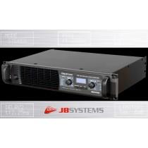 JB SYSTEMS DSPA-1000 2-Kanal Digital-Endstufe mit DSP 2 x 500W RMS