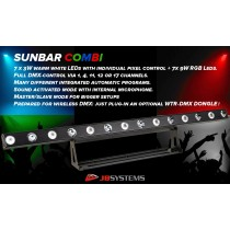 JB SYSTEMS SUNBAR COMBI
