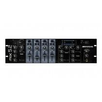 JB SYSTEMS MIX5.2 Stereo-Mixer mit zwei Masterzonen