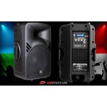 JB SYSTEMS PPA-122 Aktivlautsprecher 250W, Mixer/BT/MP3-Player