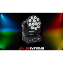 JB SYSTEMS CLUBWASH II Moving Head 12x12W RGBWA+UV
