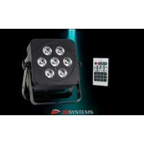 JB SYSTEMS LED-PLANO 7FC LED-Projektor 7 x 8W RGBW