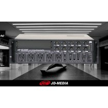 JD-MEDIA MZ-6600P 10-Zonen ELA-Zentrale 600W - 100V/4 Ohm