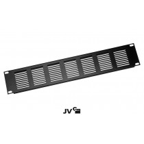 "JV CASE RP 2U/V Rackblindplatte 19""/2U (8.8cm) mit Lüftungsschlitzen"