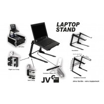 JV LAPTOP STAND Multifunktioneller Media/Laptop Ständer