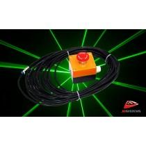 JB SYSTEMS LIS Not-Ausschalter für Lasergeräte