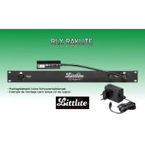 """LITTLITE RAKLITE RLX-E 19"""" Rackpanel mit Dimmer und Netzteil"""
