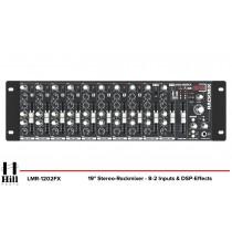 HILL AUDIO LMR-1202FX Rackmixer mit DSP