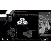 LuxyMod B3S Dreifachverteiler/Verbinder mit Einspeisekabel