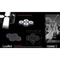 LuxyMod B4 Vierfachverteiler/Verbinder