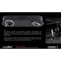 LuxyMod BoxL Gehäuse mit Abhängeseilen