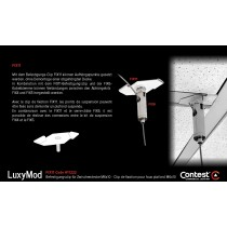 LuxyMod FIX11 Befestigungsclip für Zwischendecke