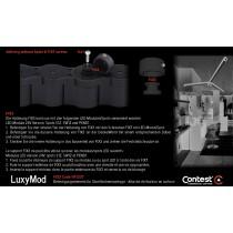 LuxyMod FIX3 Befestigungselement für Spots