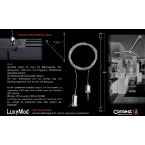 LuxyMod FIX4 Variabler Abhängekit 2m